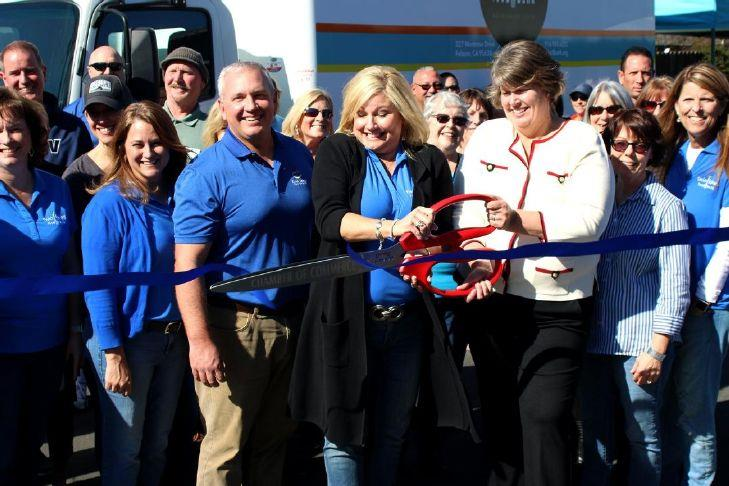 Food Bank Welcomes New Truck